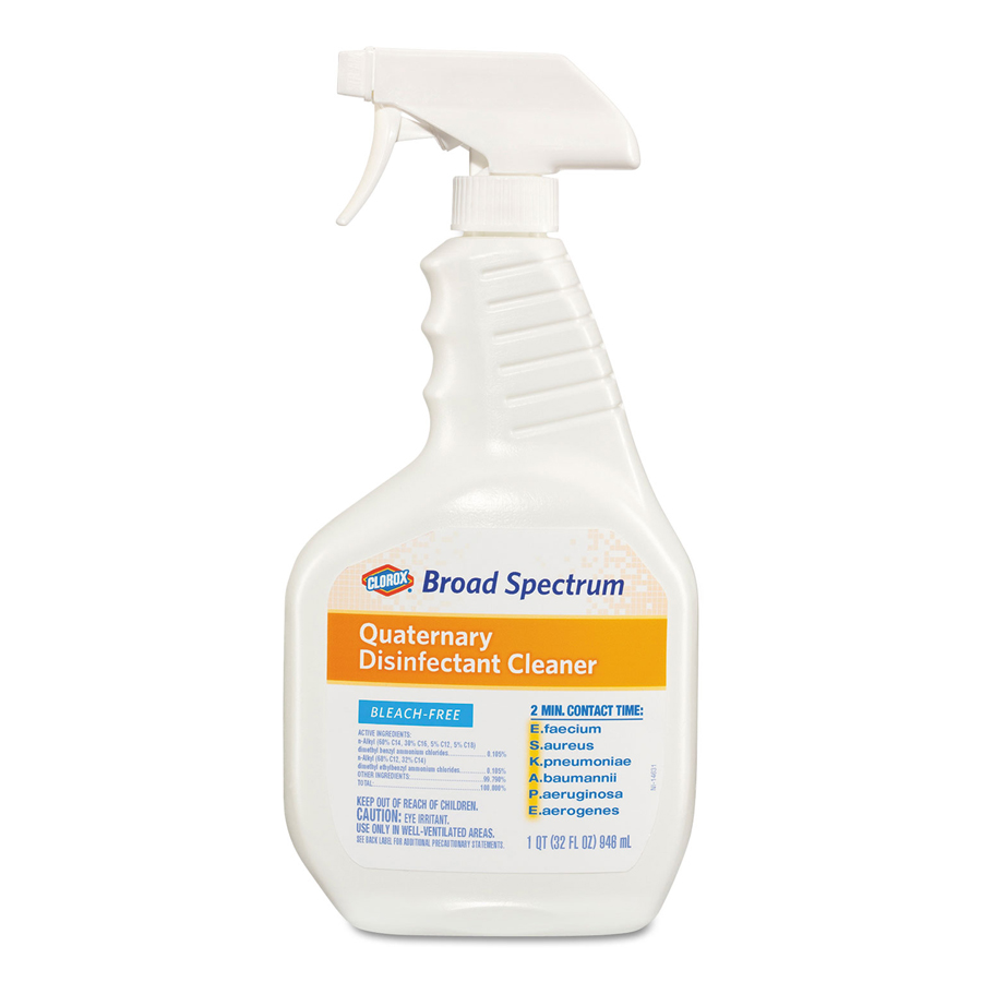 Clorox Broad Spectrum Disinf Spray 32oz 9/cs