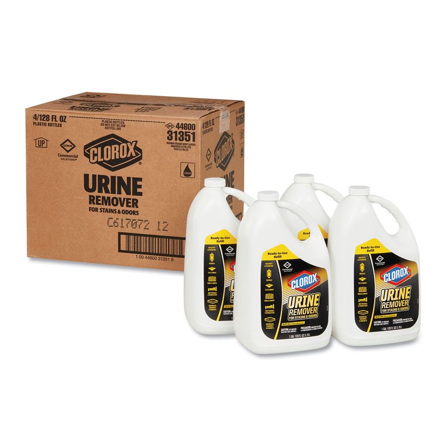 Clorox Urine And Stain Remover Gallon 4/cs