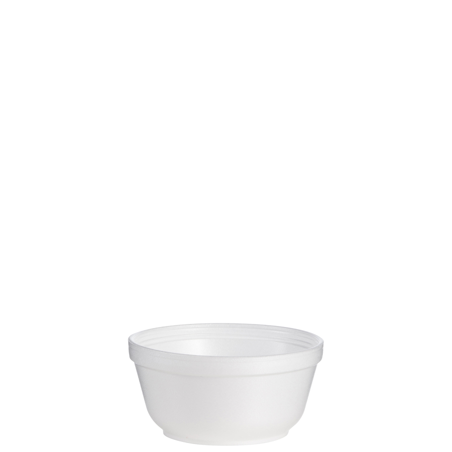 Foam Bowl 12oz White 1000/cs