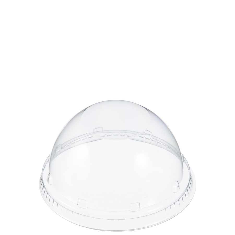 Foam Cup Lid Dome Clear For 16oz 1000/cs