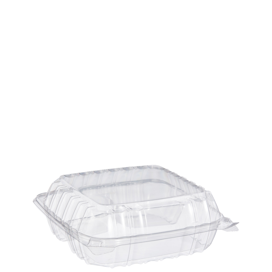 "Clearseal Container 3Sec Clear 9""X8""X3"" 250/cs"