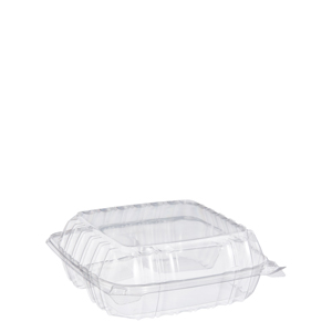 """Clearseal Container 3Sec Clear 9""""X8""""X3"""" 250/cs"""