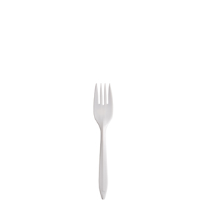 Plastic Fork Medium  Weight White 1000/cs