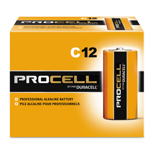 Procell Battery Size C 72/cs