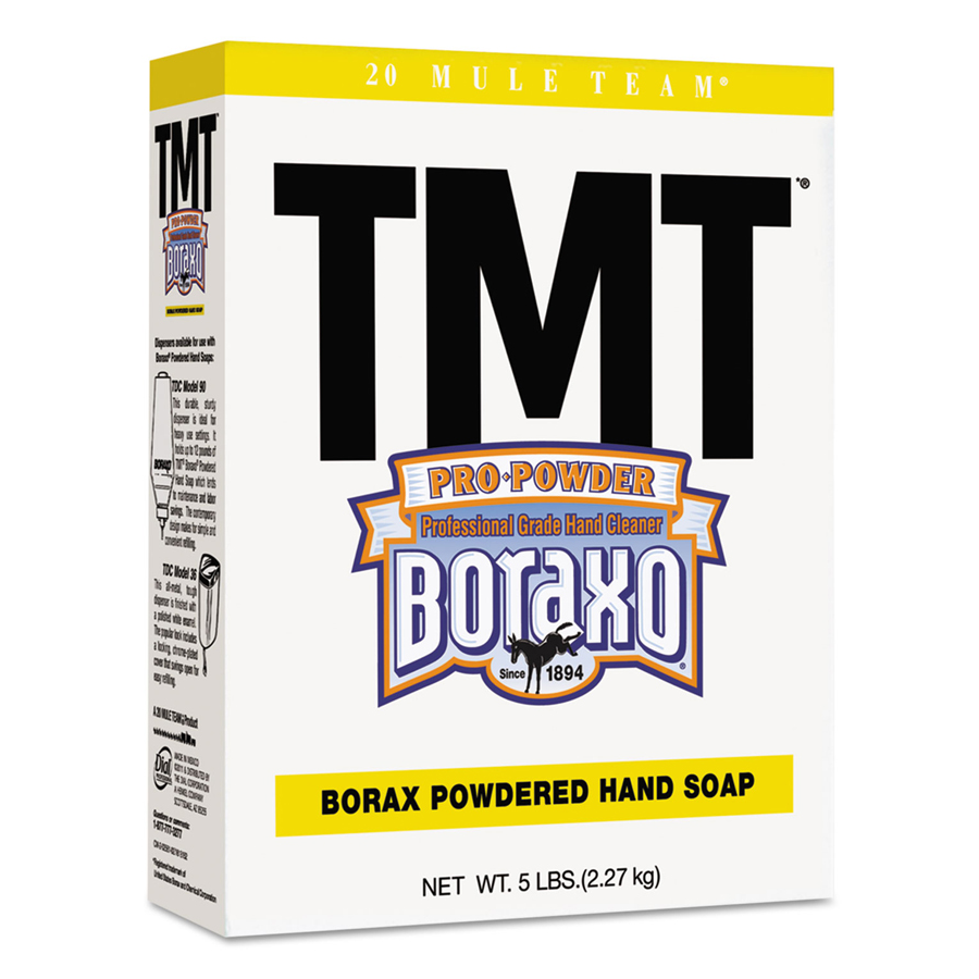Boraxo Powder Soap Tmt 5 Pound Box 10/cs