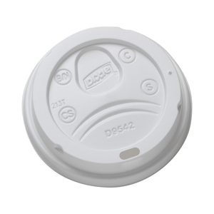 Dome Lid White For 12/16 Perfectouch Cup 1000/cs