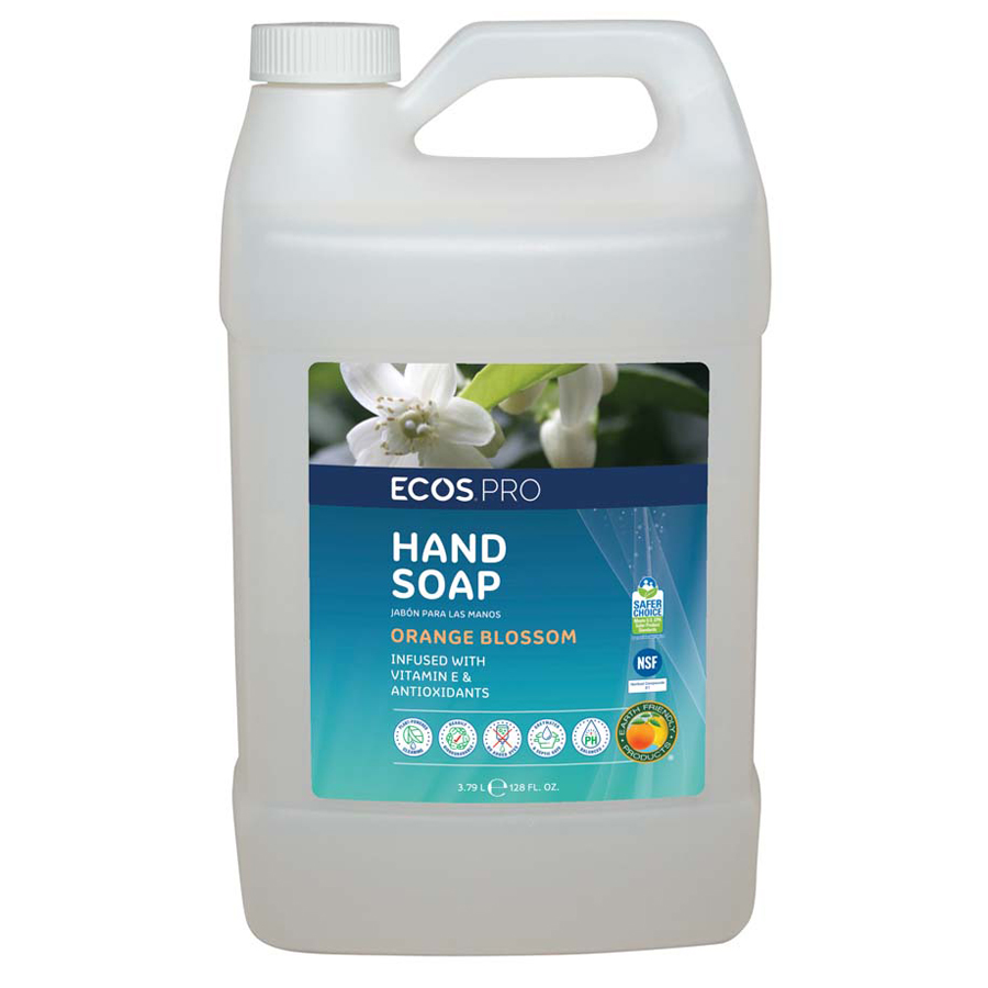 Earth Friendly Hand Soap Orange Blossom Gal 4/cs