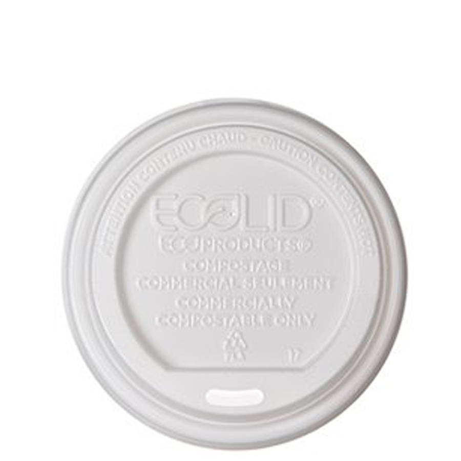 Eco Lid For 8oz Coopcup 50/Pack 16/cs