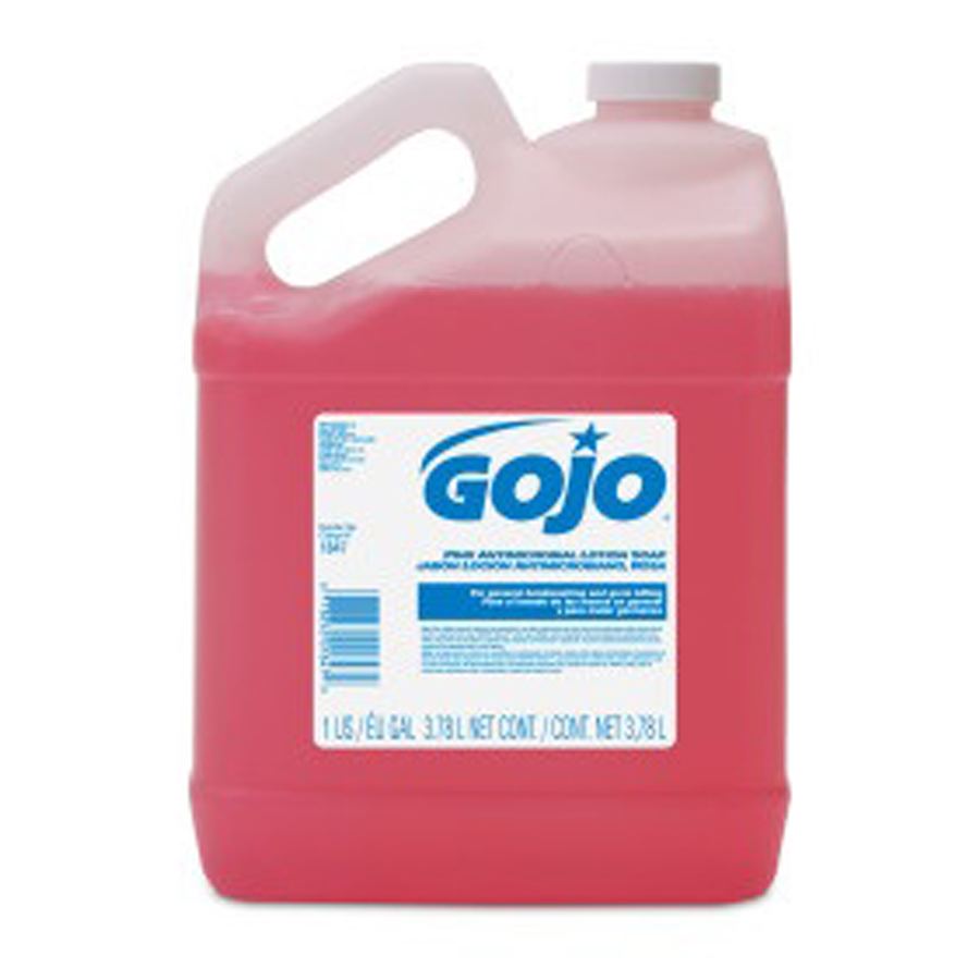 Gojo Thick Pink Liquid Hand Soap Gallon 4/cs