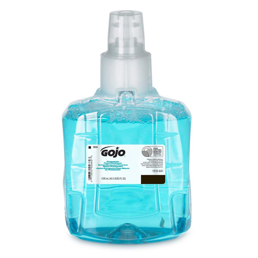 Gojo LTX Foam Soap Pomeberry 1200Ml 2/cs