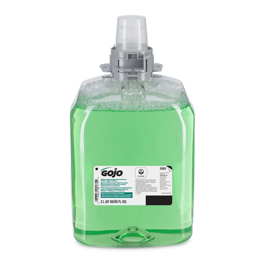 Excelon FMX Foam Hair Body Green 2000Ml 2/cs