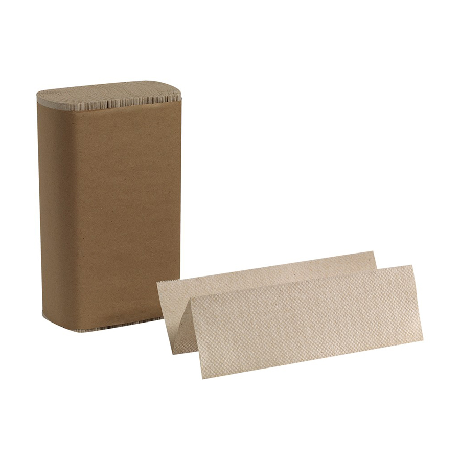 Multifold Towel Brown Recycled Basic 4000/cs
