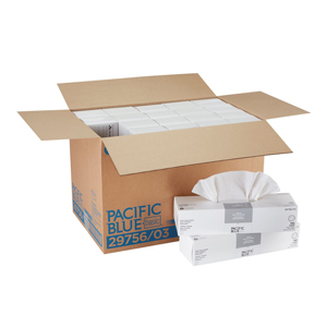 "Accuwipe Basic 1-Ply Wht 15""X16.7"" 140/bx 2800/cs"