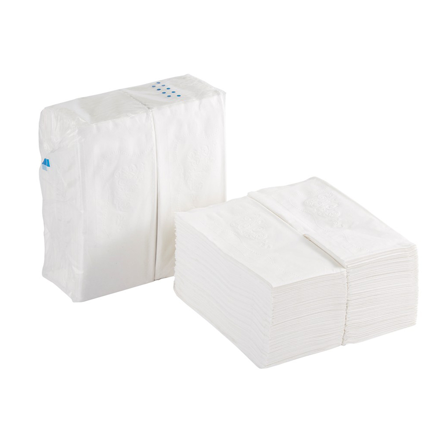 Dinner Napkin Dixie 1/8 Fld White 2-Ply 3000/cs