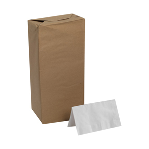 Dinner Napkin Dixie 1/8 Fld White 1-Ply 3000/cs