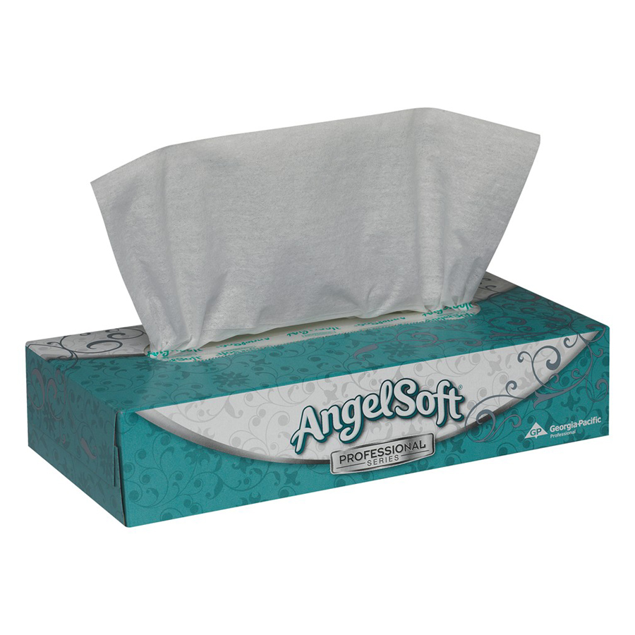 Facial Tissue Angel Soft Ps 2-Ply 100/bx 30/cs