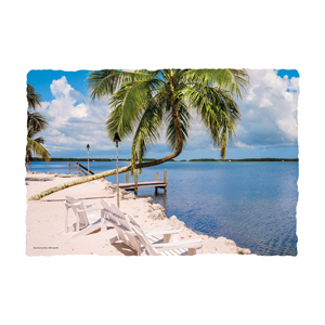 "Gulf View Placemat 10""x14"" 1000/cs"