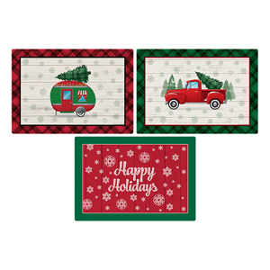 Holiday Placemats  9.75 X 14I 1000/cs