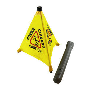 Pop Up Safety Cone  With Hang Tube Each