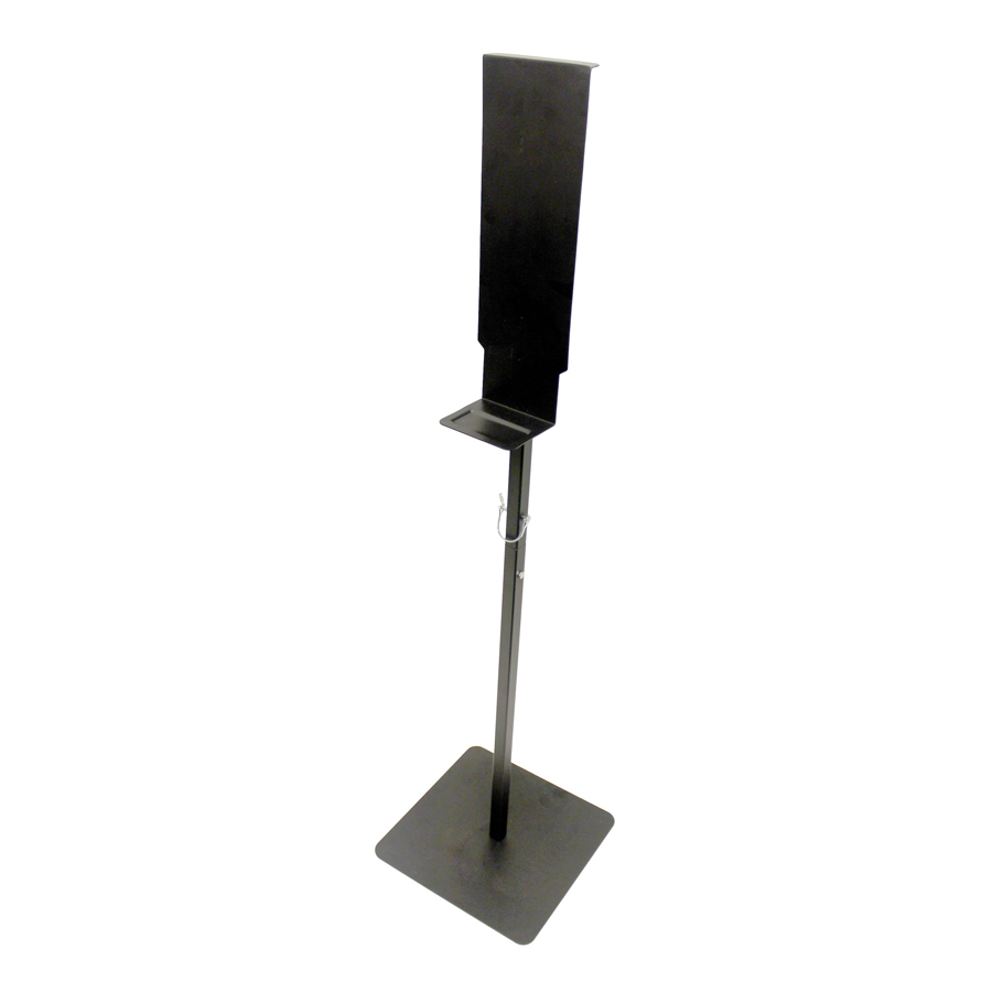 Metal Dispenser Stand Black Each