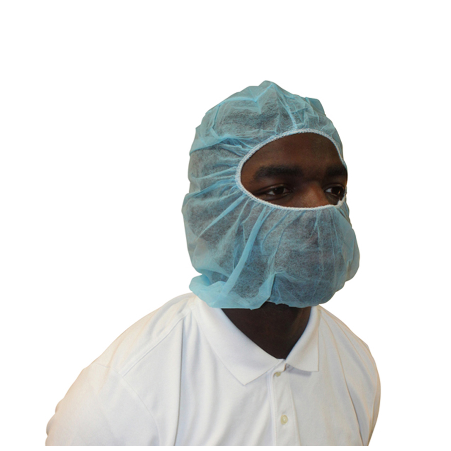 Head & Beard Cover Polypro Blue 1000/cs