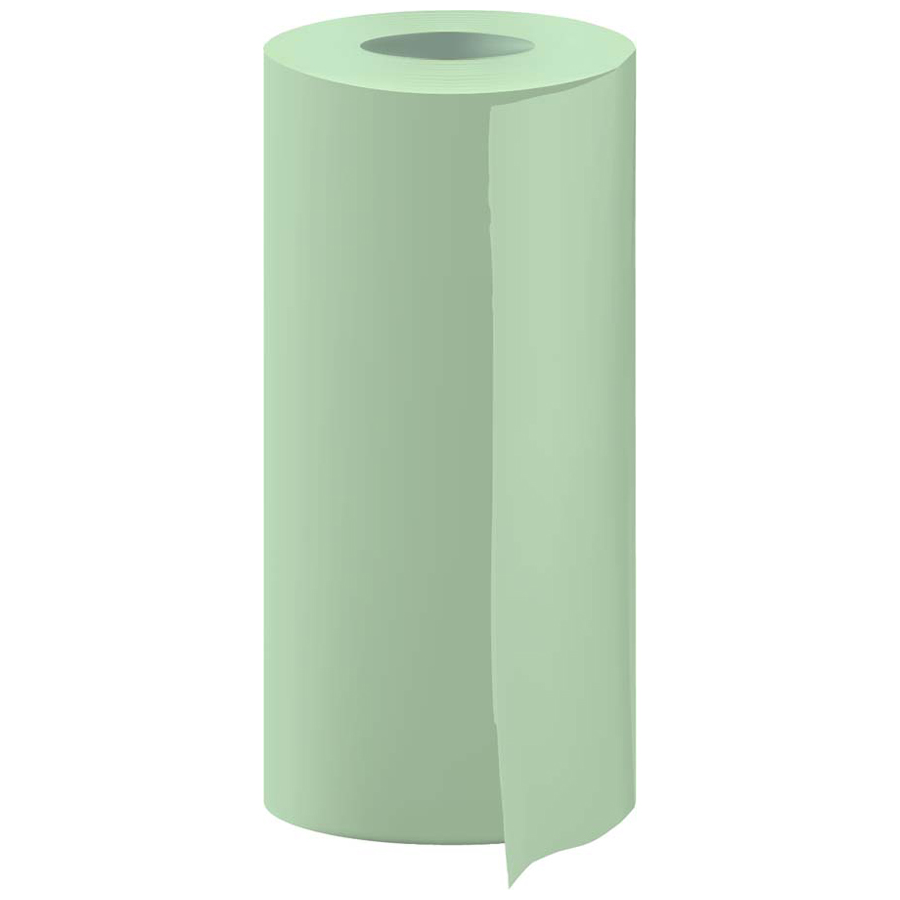 "Masking Paper Green Empty Core 72"" 4100' rl"