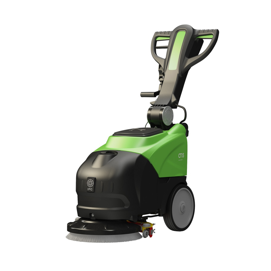"IPC Eagle CT15 Compact 14"" Electric Scrubber ea"