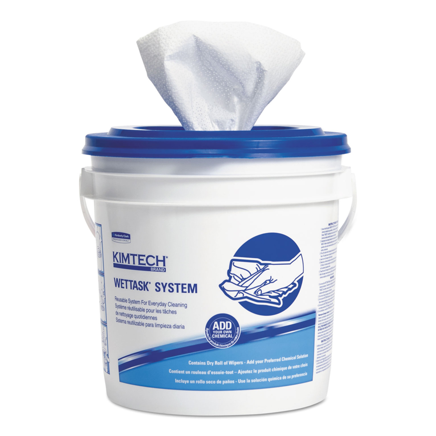 "Kimtech Prep Wiper incl Bucket 12""X12.5"" 6-90/cs"