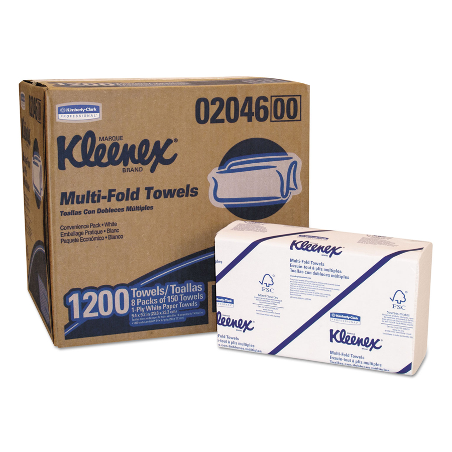 "Kleenex Ultra Hand Towel 8.5""X16.3"" 94/pk 2820/cs"