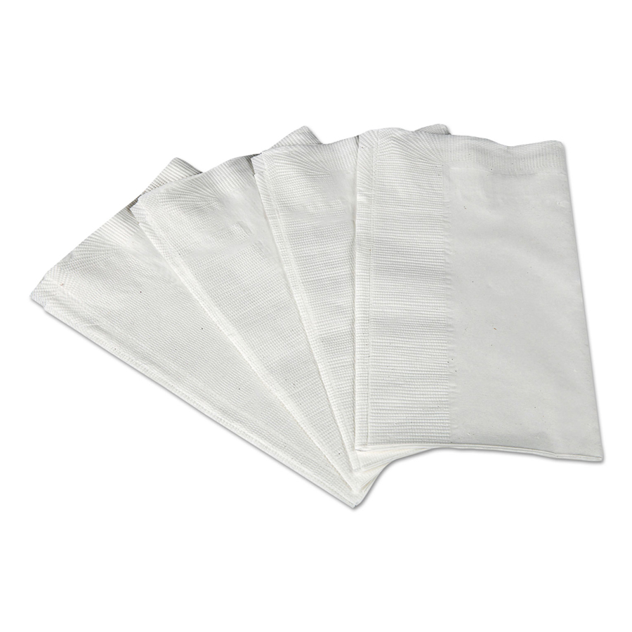 Dinner Napkin Scott 8Fld White 2-Ply 3000/cs