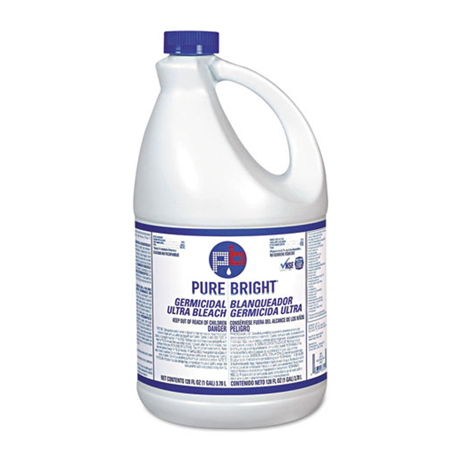 Liquid Bleach Pure Bright Gallon 6/cs