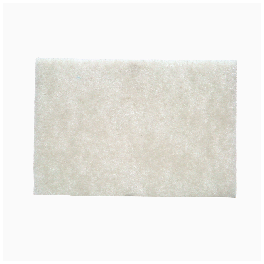 "3M Scotch Brite Light Pad White 6""X9"" 60/cs"
