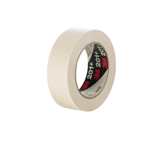 3M 201+ Masking Tape Tan 48Mmx55M 24/cs