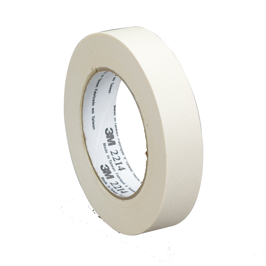 3M 2214 Masking Tape Tan 48Mmx55M 24/cs