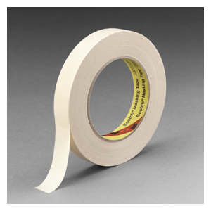 3M 232 Masking Tape Tan 48Mmx55M 24/cs