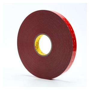 "3M 4936F Vhb Tape Gray .375""X72yd 24/cs"