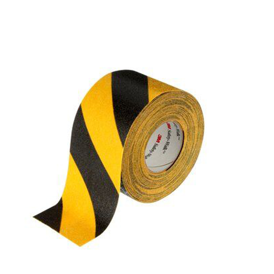 "613 Safety Walk Tape Blk /Ylw Slip Resist 4""x60'"