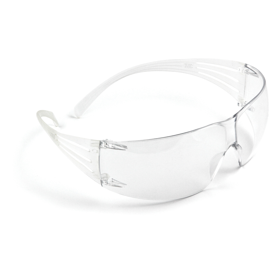 3M Secureift Safety Glasses As Clear 20/cs