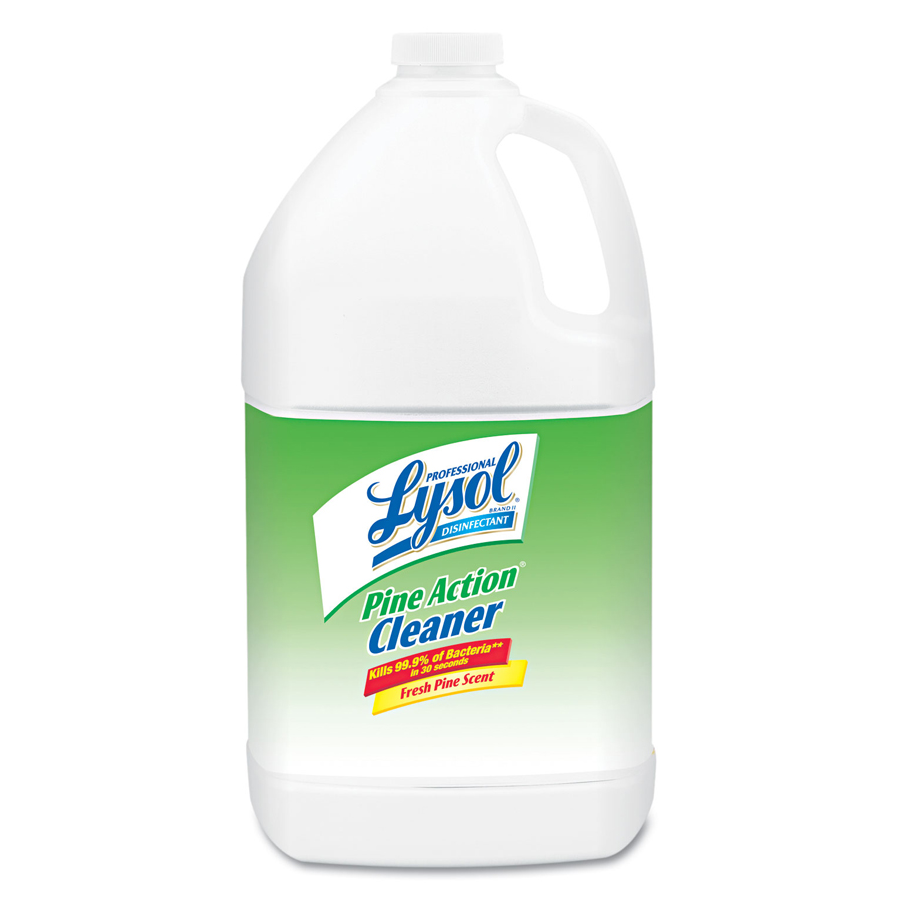 Lysol Pine Disinfectant Cleaner Gallon 4/cs