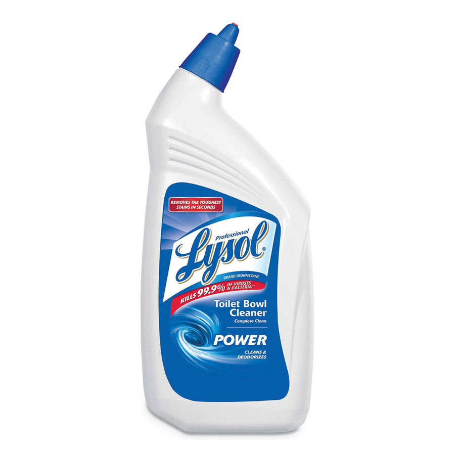 Lysol Bowl Cleaner Angle Neck 9.5%  32oz 12/cs