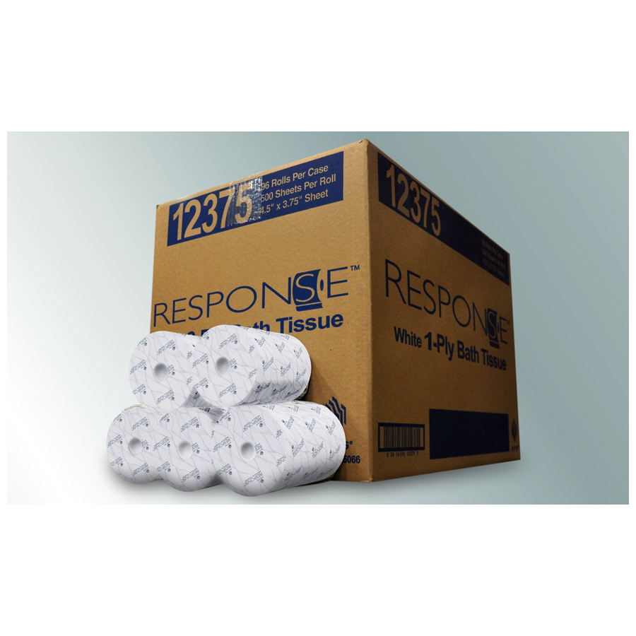 Bath Tissue Response 2-Ply 500/rl 96/cs