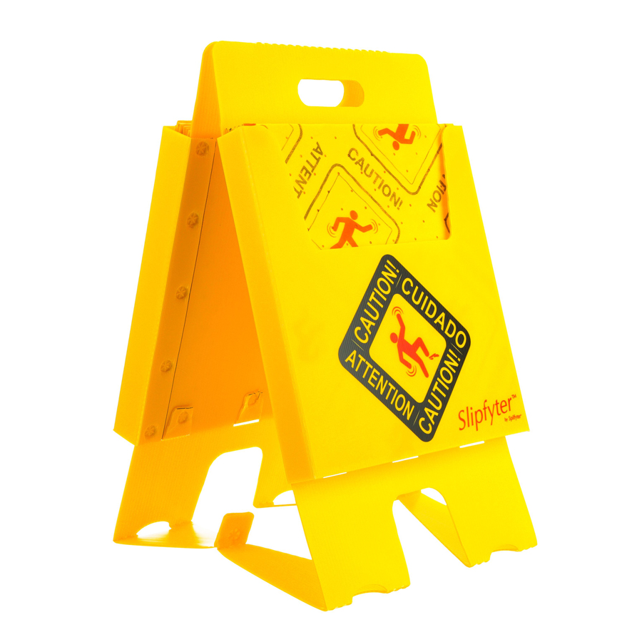 Caution Stand Kit With 40 Hi-Vis Univ Pads