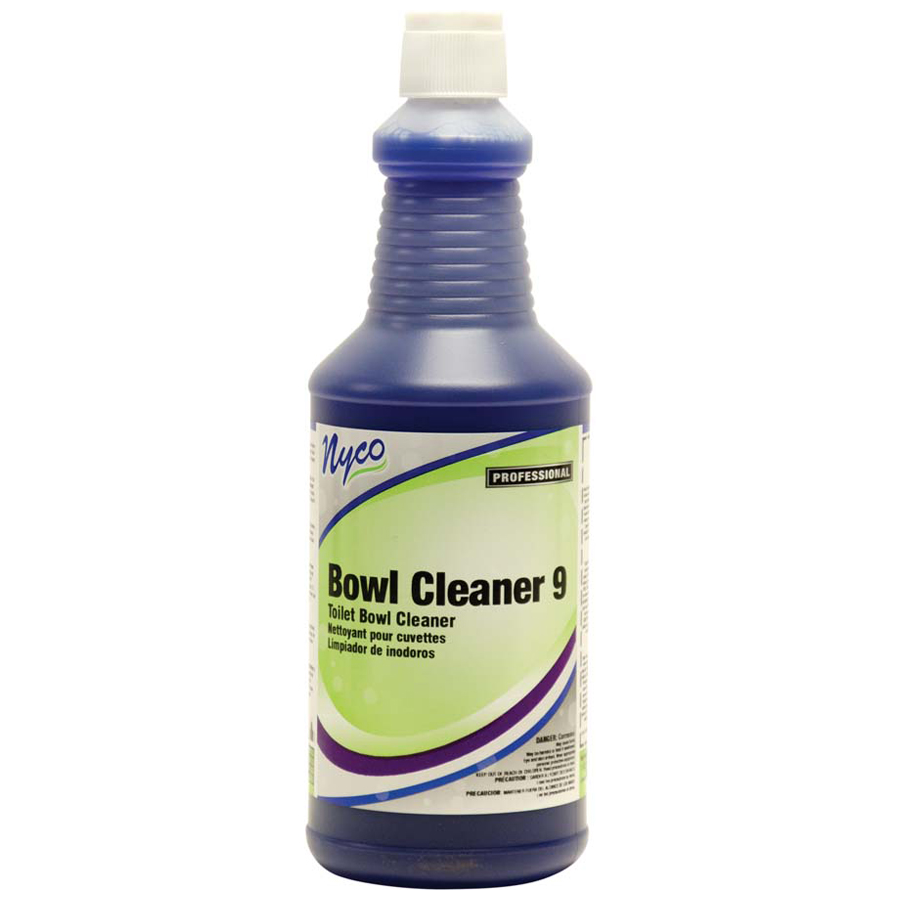 Bowl Cleaner Ratchet Cap 9%Hcl 32oz 12/cs