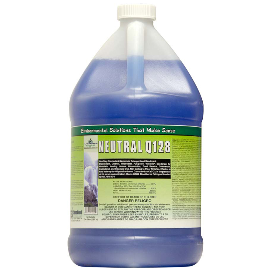 Neutral Q128 Disinfect Cleaner Gallon 4/cs