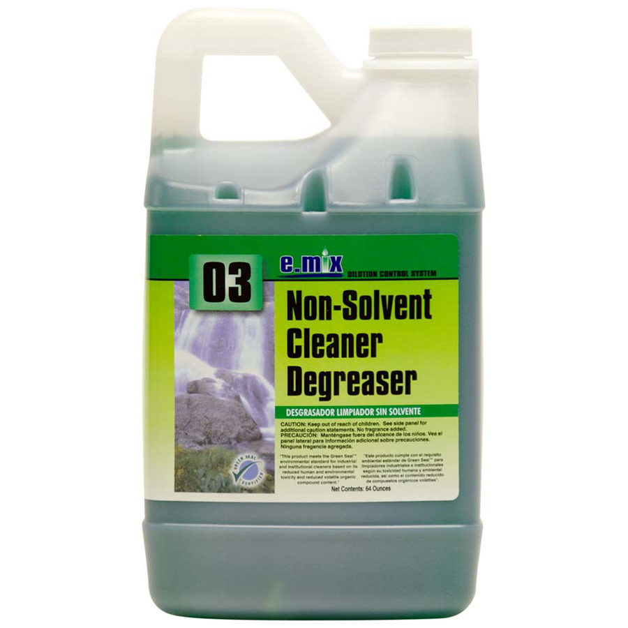 E-Mix #3 Nonsolvent Clnr Degreaser 64oz 4/cs