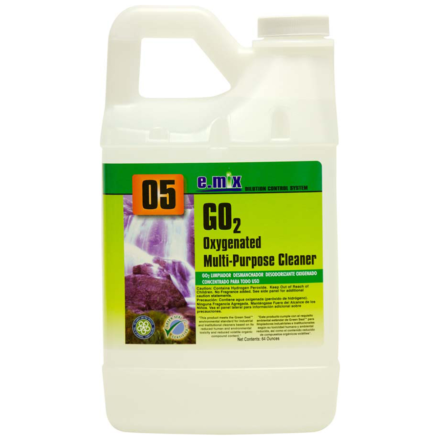 E-Mix #5 Go2 Oxygen Cleaner 64oz 4/cs