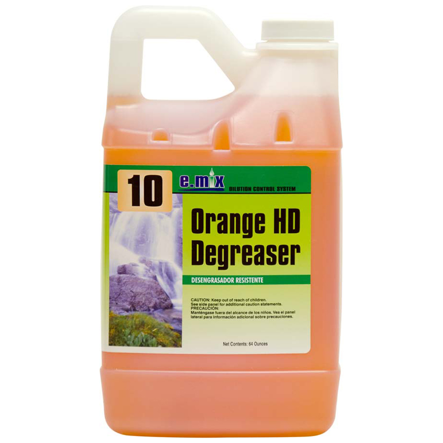 E-Mix #10 Orange hd Degreaser 4-64oz cs