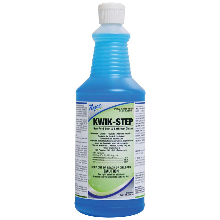 Kwik Step Washroom Clnr Non Acid 32oz 12/cs