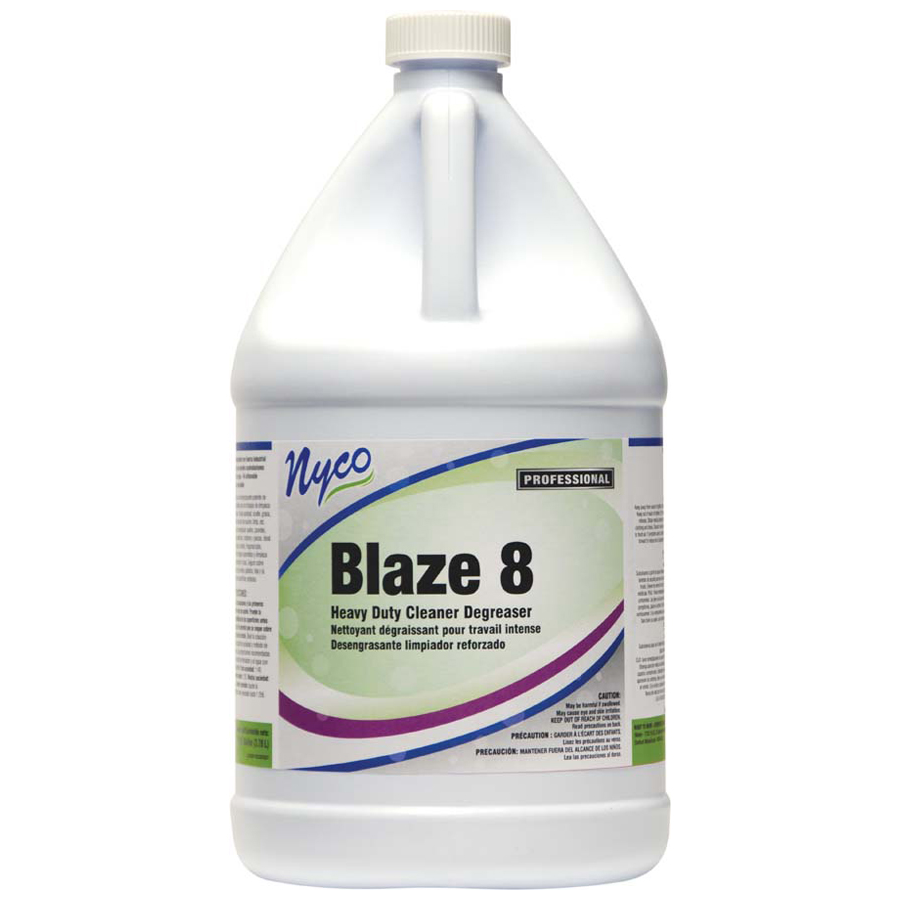 Blaze 8 Cleaner Degrease Butyl Gallon 4/cs