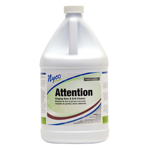 Attention Oven and Grill Cleaner Gallon 4/case
